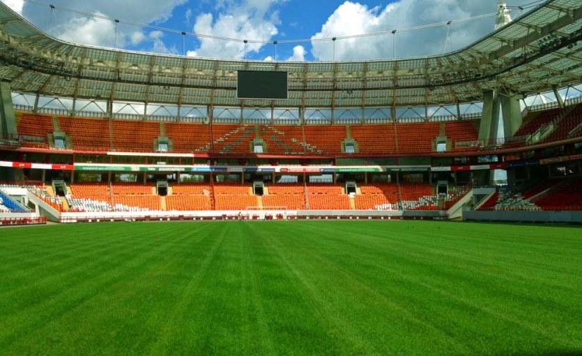 Строительство спортивных полей и площадок