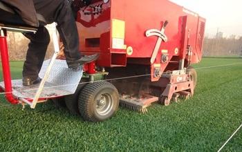 Машина для расчесывания травы