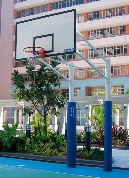 Баскетбольная стационарная стойка