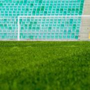 Футбольное поле из натуральной травы