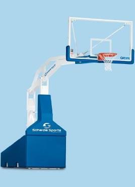 Мобильный баскетбольный щит со стойкой
