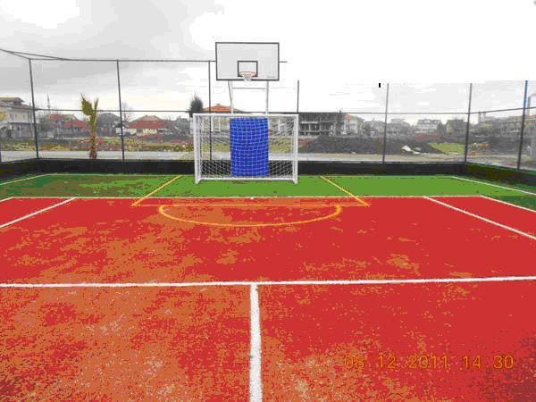 Ремонт баскетбольных площадок