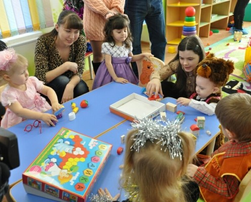 Игры интеллектуального развития детей