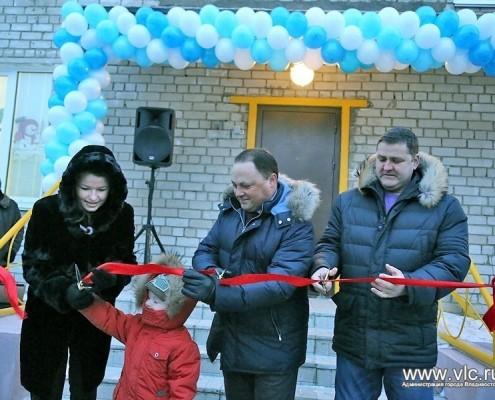 Церемония открытия детского садика главой города