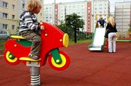Модульные покрытия для детских площадок