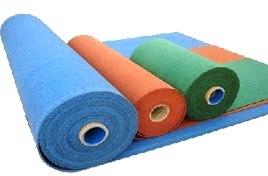 Рулонные покрытия для фитнес залов