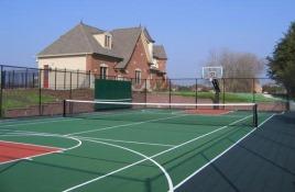 Рулонные покрытия для волейбольной и баскетбольной площадки, теннисных кортов