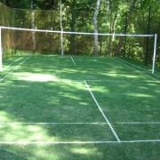 Волейбольная площадка из искусственной травы