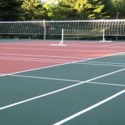 Волейбольная площадка из резиновой крошки