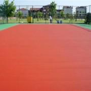 Волейбольная площадка из акрилового покрытия
