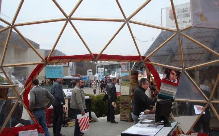 Купольное сооружение для бизнес мероприятия